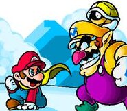 Wario attacks 6