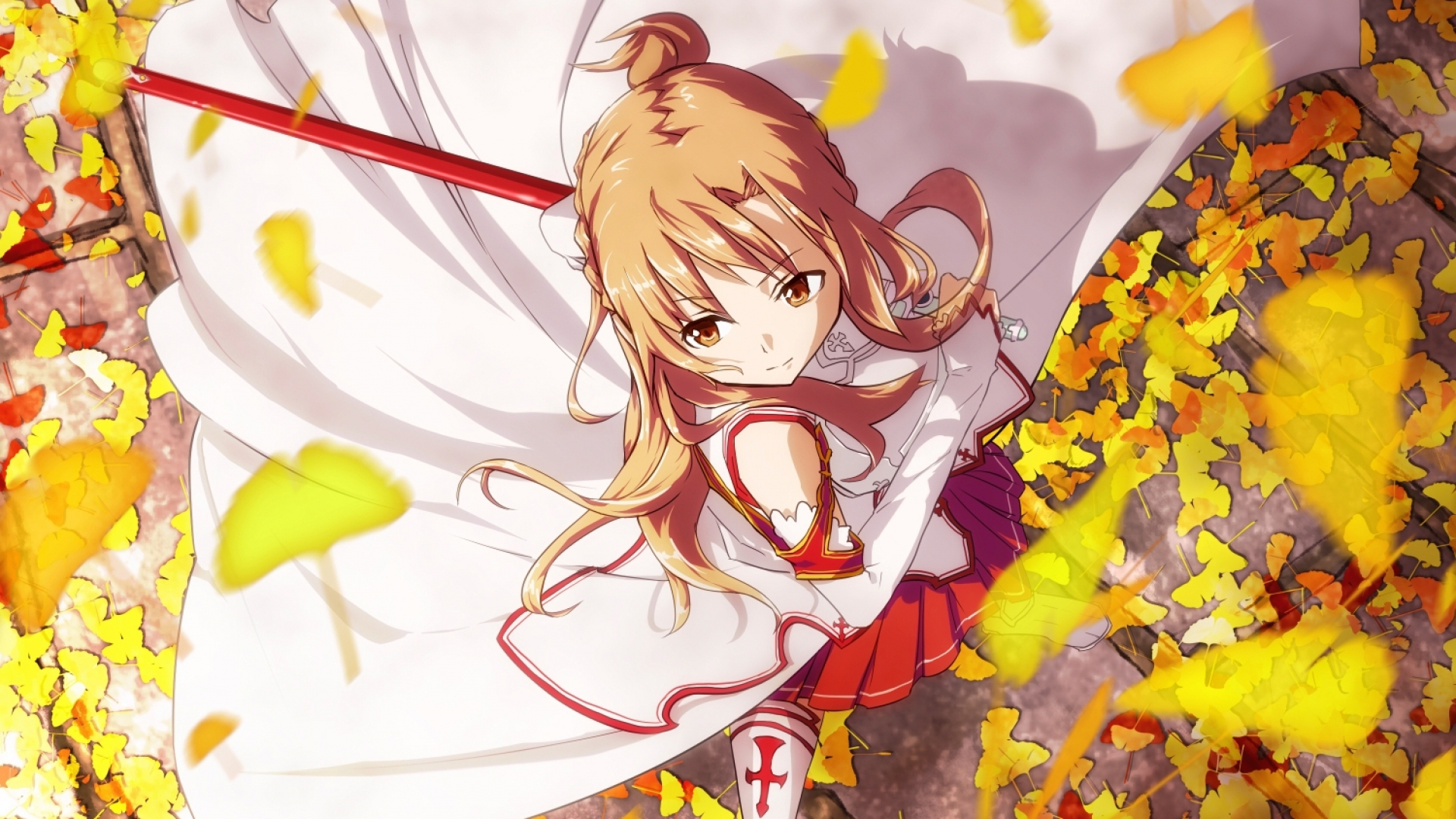 Image   Sword Art Online Asuna HD Wallpaper | The Naruto World Wiki |  FANDOM Powered By Wikia