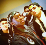 Myles, Isaiah, Akiel and Giuseppe