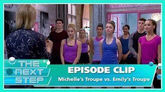 Episode Clip Michelle's Troupe vs. Emily's Troupe - The Next Step