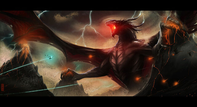 File:Dragon of the First Age by rubendevela.jpg
