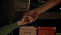 Bayne holding hands