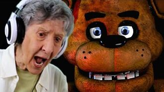 GRANDMOTHER PLAYS FIVE NIGHTS AT FREDDY'S!