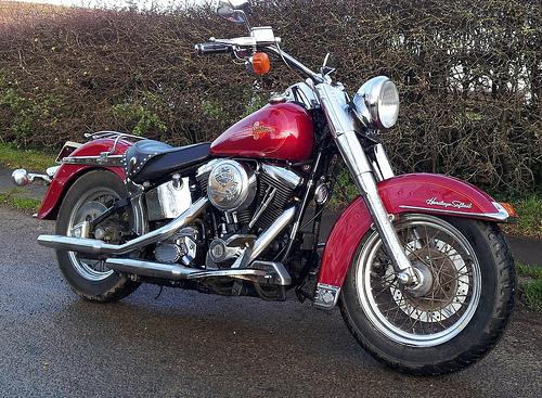 File:Harley Davidson Softail Slim 1994 style.jpg