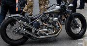 Rusthless racer Harley Davidson in Grimaud