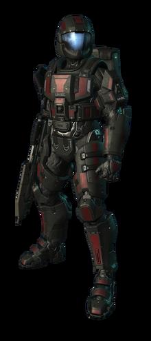 Spartoi Mk V Medium Assault Armor.