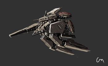 Flying mech by zhangx-d41a8hh