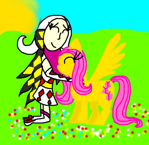 File:Kamira and Fluttershy.png