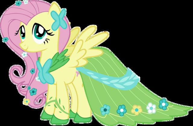 File:Fluttershy dress.png