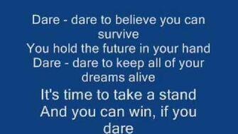 Kristijan's theme song- Dare