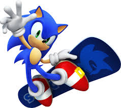 File:Sonic on a snow board.jpg