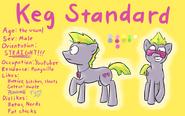 Keg standard reference by ben saint-d7fg982