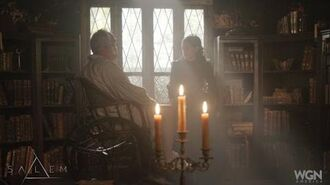 Salem- 205 'The Wine Dark Sea' - Mary threatens George