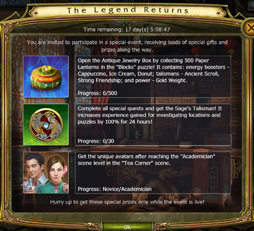 The Legend Returns