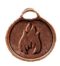 C319 Set of amulets i02 Fire sign