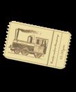 One-Off Item 34 Train ticket
