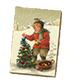 C464 Christmas cards i06 Antique card