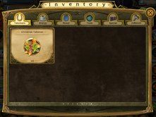 Christmas 2015 talisman in Inventory