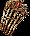 C244 Anonymouss treasure i06 Golden bobby pin