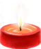 C100 Little candles i03 Red candle