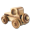 C083 Wooden toys i01 Wooden car
