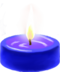 C100 Little candles i05 Blue candle