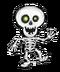 C168 Halloween decorations i05 Dancing skeleton