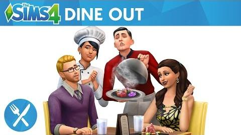 The Sims 4 Dine Out- Official Trailer