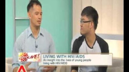 AM Live! interviews HIV +ve individuals, Singaporean Avin and activist Laurindo