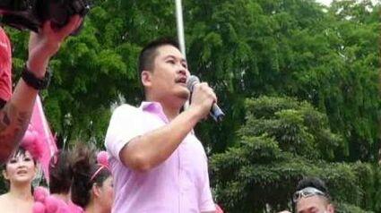 Pink Dot 2011, keynote speech by Otto Fong