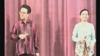 Peranakan Show - Baba William Tan - Dondang Sayang (1989)