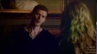 Klaus and Caroline Give you what you like