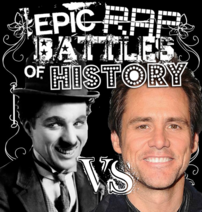 Charlie Chaplin vs Jim Carrey cover