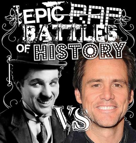 File:Charlie Chaplin vs Jim Carrey cover.png