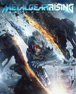 Metal Gear Rising Revengeance box artwork