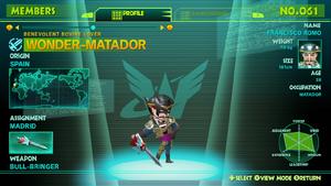 Wonder-Matador