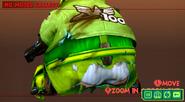 Green's butt