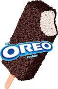 Oreo crunch ice cream bar