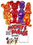 Mickey's Parade ice pops