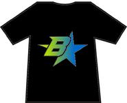 Brothers B star gradient (black)