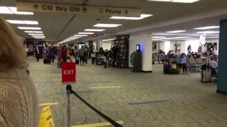 Miami airport fire alarm 4k