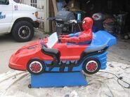 Spider-Man car coin-op ride