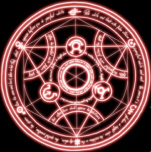 Shikashi transmutation-circle