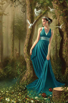 Persephone Daughter of Greek Goddess Demeter (2)