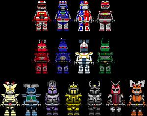 15 Metal Heroes