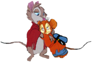 Fievel and Mrs. Brisby (3)