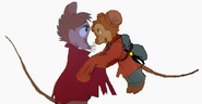 Fievel and Mrs. Brisby (4)
