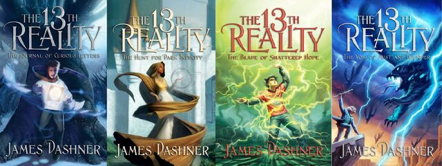 File:The 13th Reality Series Book Covers.jpg