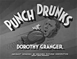 Punch Drunks title card