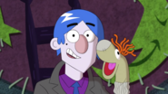 S1e19b Grim and His Completed Sock Puppet